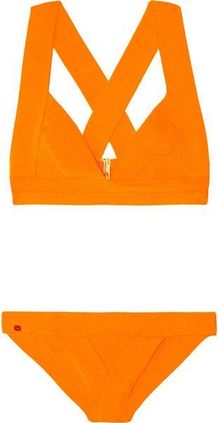 Hervè Lèger Bandage Triangle Bikini - Lyst