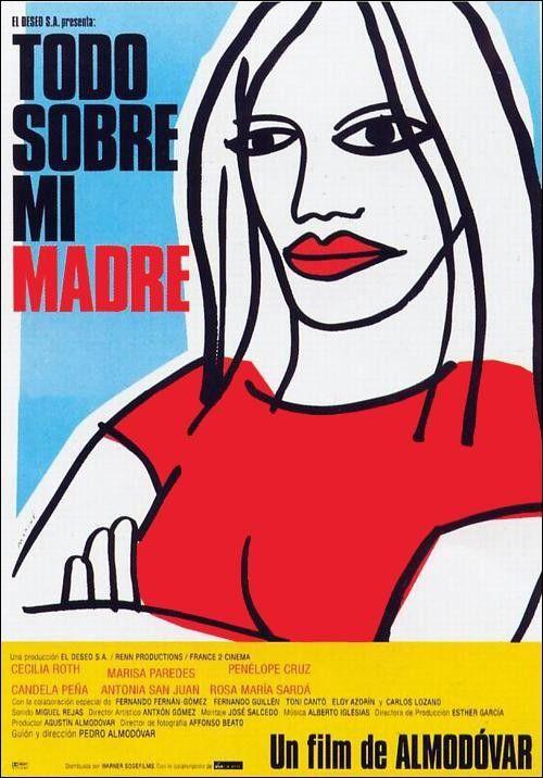 "074 ""Cartel original de Oscar Mariné"" / Todo sobre mi Madre (1999) / #Almodovar"