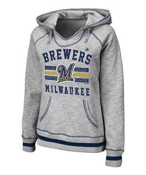 Love this Milwaukee Brewers French Terry Hoodie - Plus by Profile Apparel on #zulily! #zulilyfinds