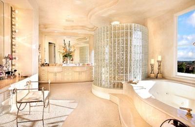 Luxury: Dreams Houses, Nice Bathroom, Dreams Bathroom, Future House, Glasses Blocks, Beautiful Bathroom, White Bathroom, Bathroom Ideas, Breathtak Bathroom