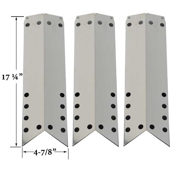 3 PACK STAINLESS STEEL HEAT SHIELD FOR DURO 720-0584A, NEXGRILL 720-0522, 720-0584A GAS MODELS Fits Compatible Duro Models : 720-0584A Read More @http://www.grillpartszone.com/shopexd.asp?id=35715&sid=15714