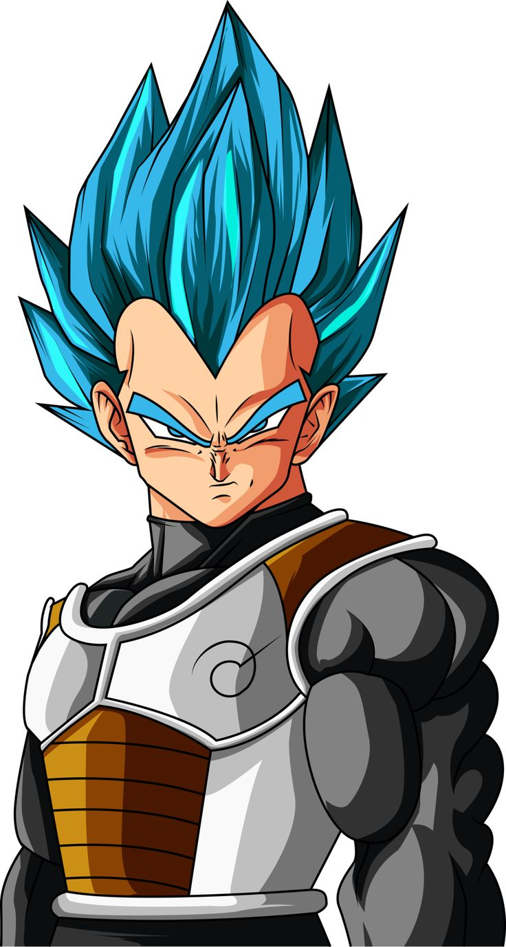 Super Saiyan  Blue Vegeta-Evolution of the Saiyans by lightningbarer on @DeviantArt