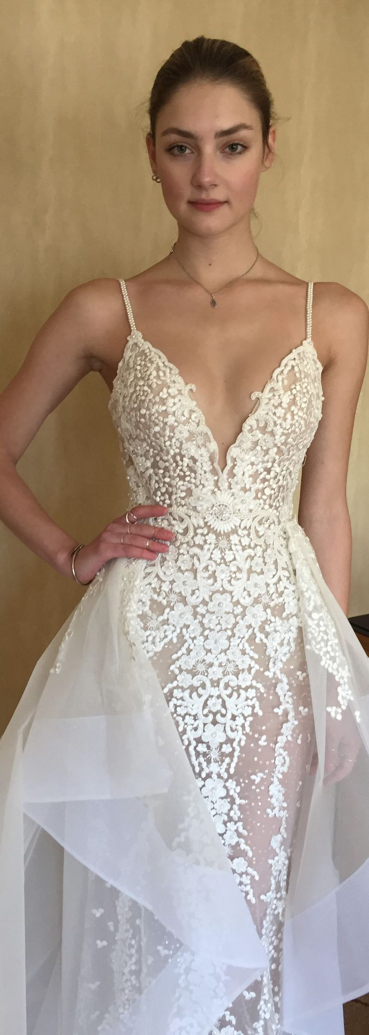 Oh this bertabridal gown is endlessly pretty weddings for Used wedding dresses fort wayne indiana
