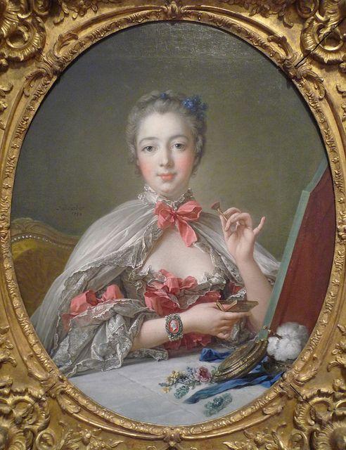 Francois Boucher 1703–1770 FR Madame de Pompadour, oil on canvas, 1750
