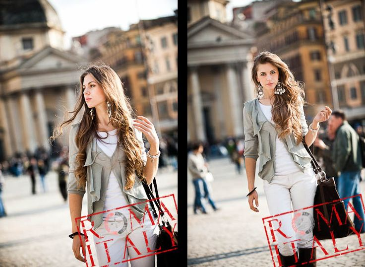 Noemi Rome Italy Fashion Photo Session Italian Fashion