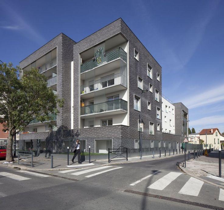 Galería de Edificio de Viviendas Saint Denis / Ateliers O-S architectes - 1