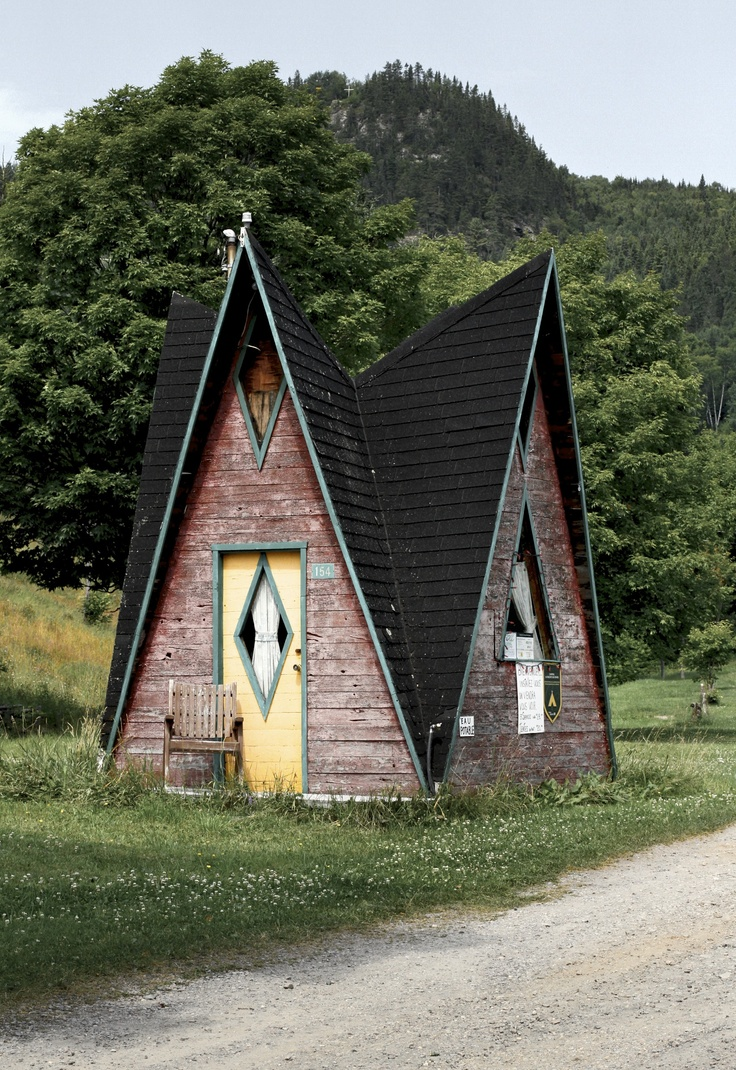 267 best a frame house images on pinterest a frame house a a frame house in sainte rose du nord quebec canada