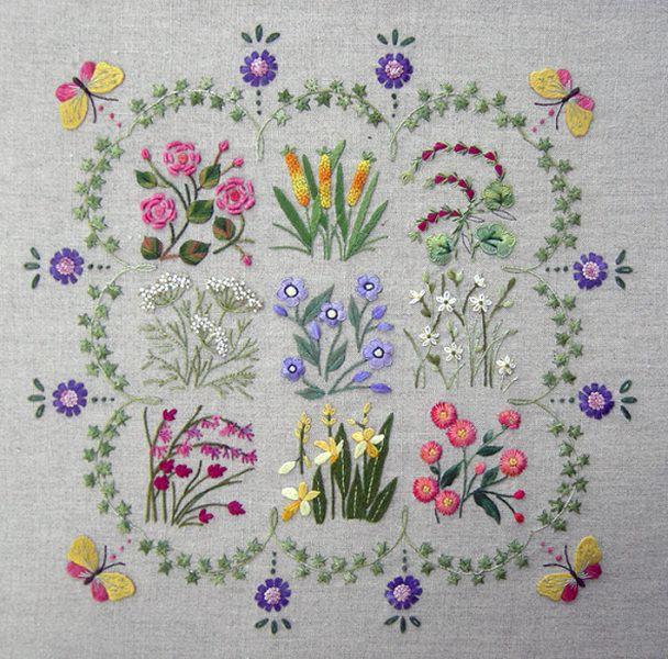 herbarium  #embroidery