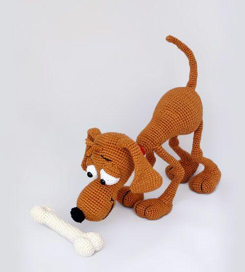 Buy Doug the dog amigurumi pattern - AmigurumiPatterns.net