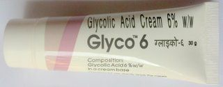 Glyco 6 Glycolic Acid Cream for Acne Scars & Pimple Marks