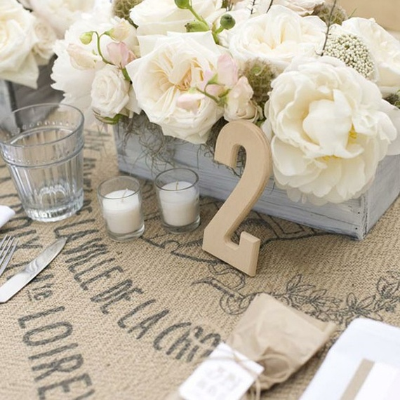 Matrimonio Shabby Chic Total White : White wedding meal with an attempt at french countryside