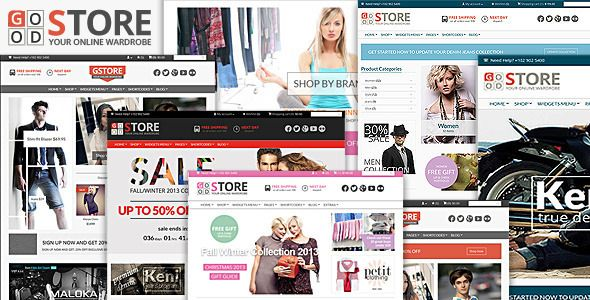 GoodStore - WooCommerce Responsive Theme