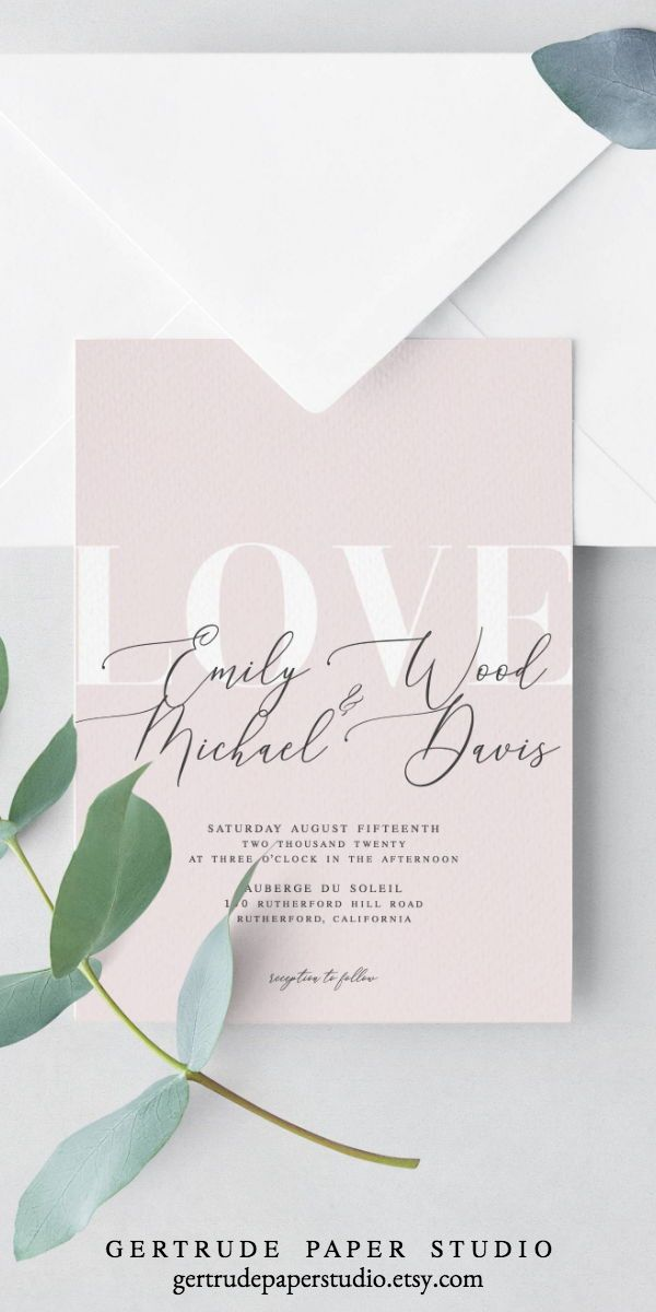Printable Blush Pink Wedding Invitation Instant Download Diy Wedding Invitation Template Calligraphy Wedding Invitation Modern Invite 20 Blush Pink Wedding Invitations Diy Wedding Invitations Templates Wedding Invitations Diy