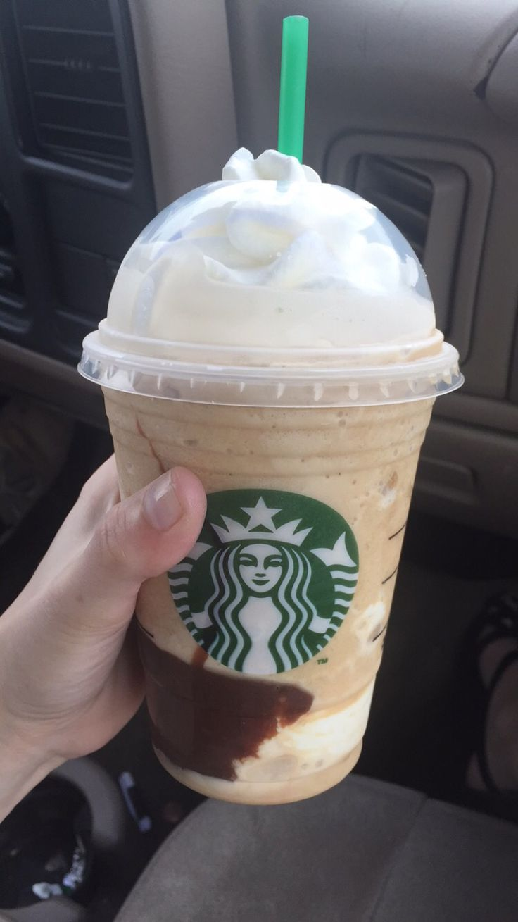 New 'Smores Frap at Starbucks got me like    actually have never felt whiter than posting a pic of a frappachino on Pinterest lol   #starbucks #smores #yum