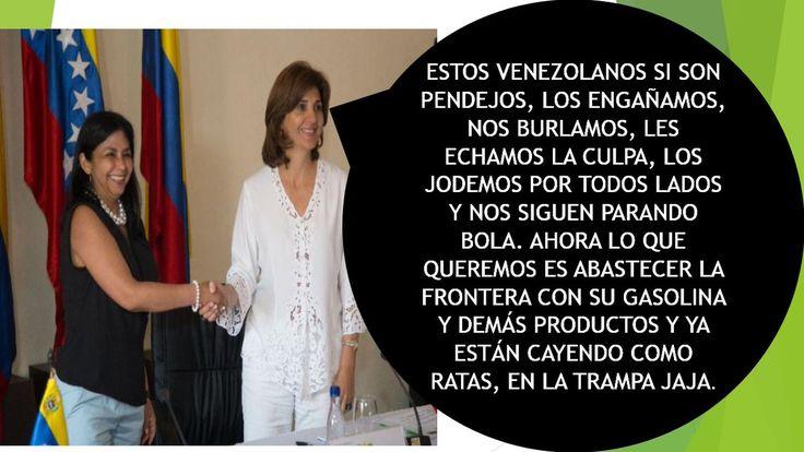 UBCh TV. INFORMA: EL GOBIERNO SIGUE CREYENDO EN COLOMBIA Y NOS SEGUIRÁN TRAICIONANDO