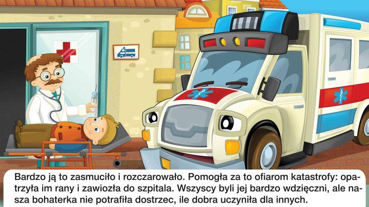 Bajka dla dzieci - Karetka - Baśń