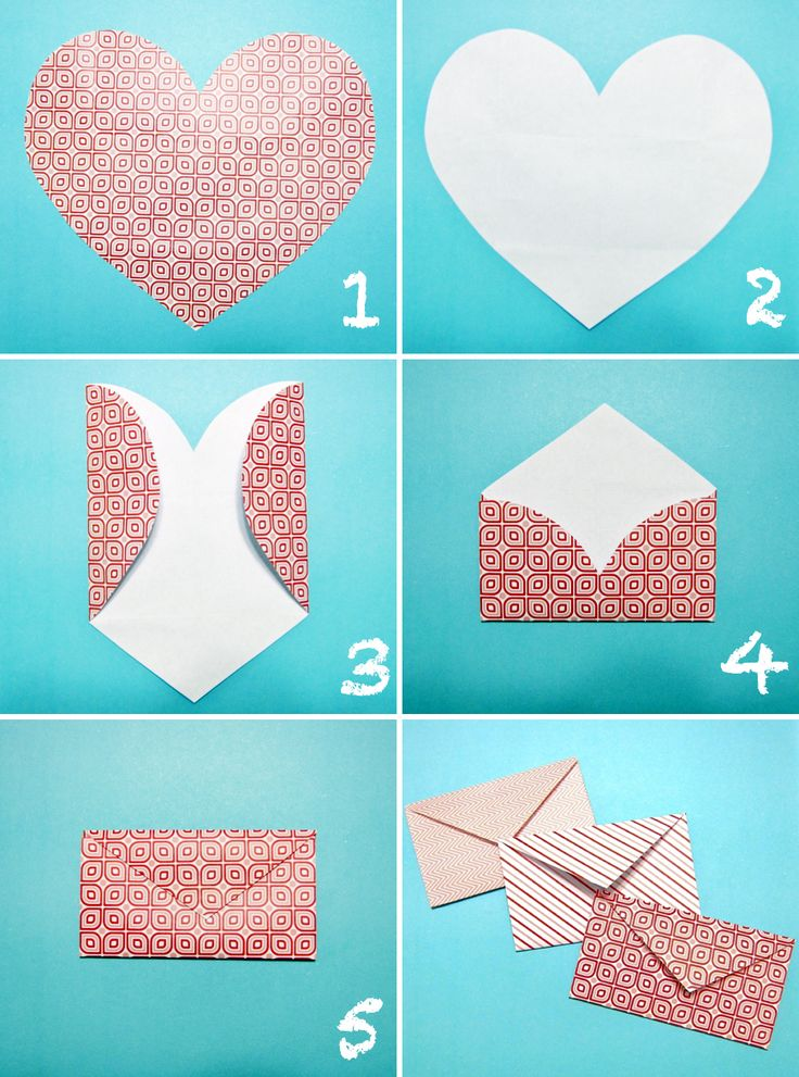 Can't find an envelope when you need one? Make it yourself!