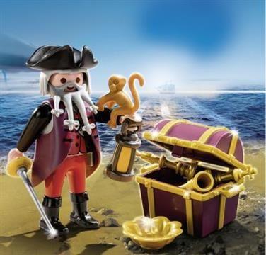 Playmobil Special Plus Πειρατής Με Σεντούκι Θησαυρού (4783) 3,99