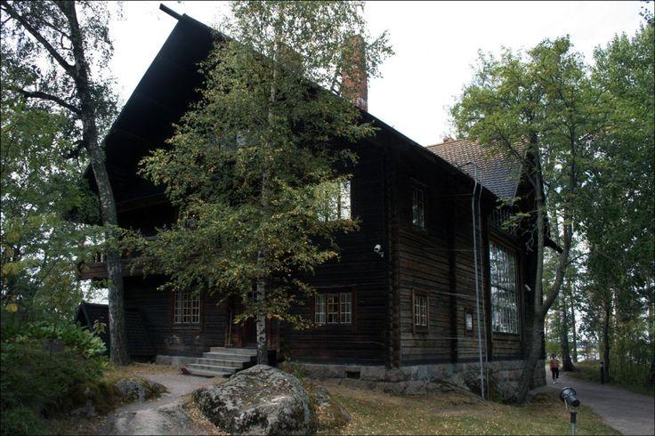 Halosenniemi – home of Finnish Artist Pekka Halonen, from The Life and Art of Pekka Halonen - http://www.alternativefinland.com/art-pekka-halonen/