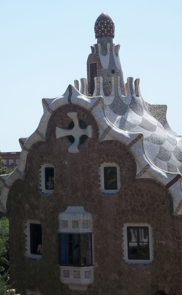 Weekend in Barcelona 2-4 August 2013 - Parc Guell (Gaudi)