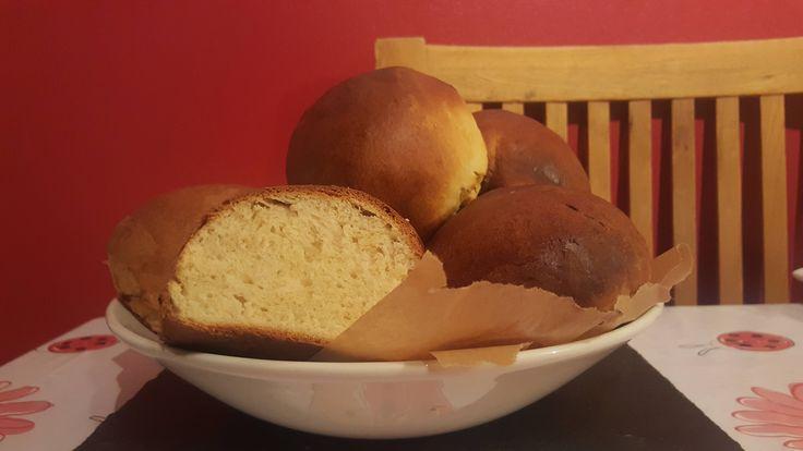My own recipe - a take on a brioche/bath bun #homemadebread #bread #homemade #foodporn #recipes #desserts #chocolatebread #breakfast #Nestle