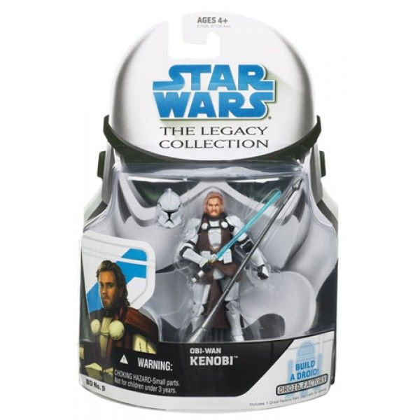 2008 Legacy Collection Carded Obi-Wan Kenobi (General's armor)