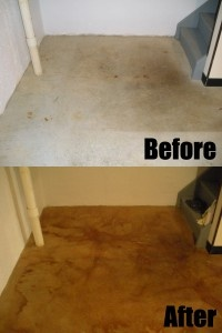 8 Best Images About Before Amp After Concrete Staining On