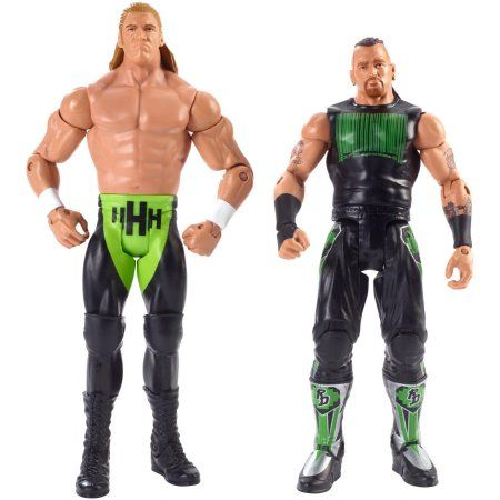 WWE Triple H & Road Dogg 2-Pack, Multicolor