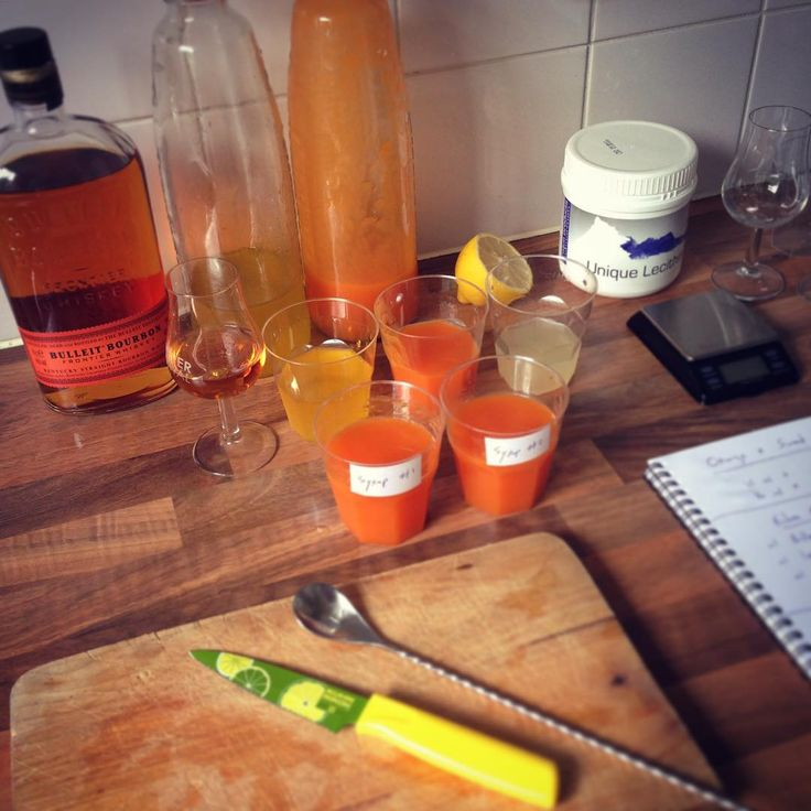 """""""Rainy summer days call for #molecularcocktail experiments. #bulleit #bourbon #cocktails with lots of different #soylecithin #molecular airs and weird…"""""""