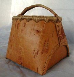 Birch Bark Berry Basket - Builder's Workshop