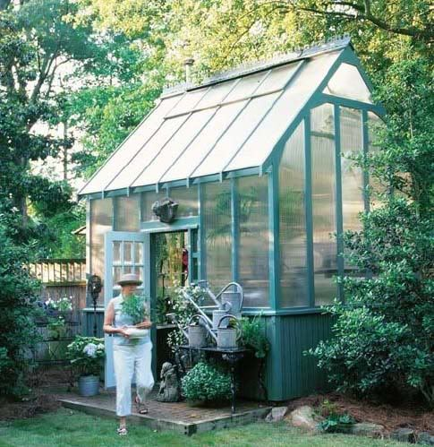 17 best greenhouse plans images on pinterest greenhouses for Better homes and gardens greenhouse
