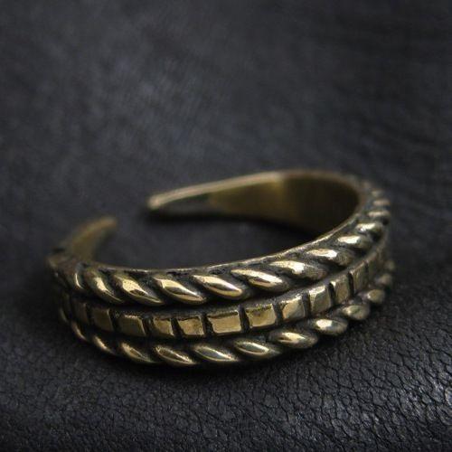 Bronze Slavic ring. Reenactment. Medieval. Slavs. SCA.