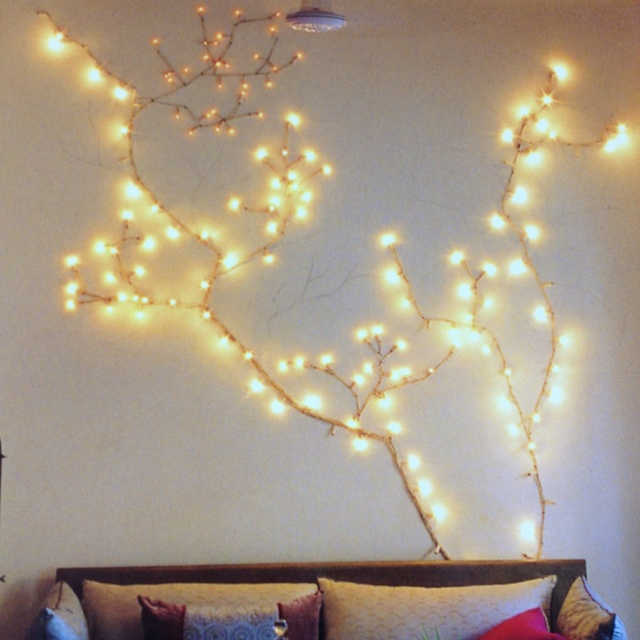 How To String Lights On A Ficus Tree : 17 Best images about New Obsession: Twinkle Lights on Pinterest Getting cozy, Holiday tree and ...