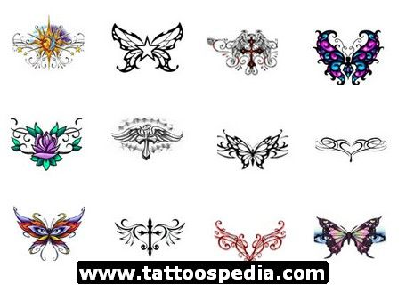 celtic tattoos for women | ... tattoo designs lower back cherry blossom tattoo lower back dragonfly