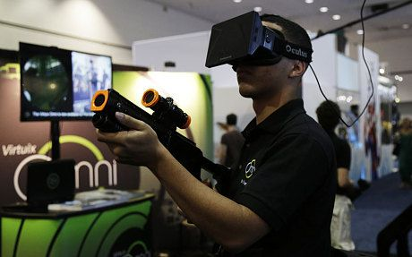 Oculus Rift's Palmer Luckey: 'I brought virtual reality back from the dead' - Telegraph 1/2/15  Mark Zuckerberg paid $2.3 billion to acquire his company, Oculus Rift.