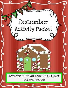 """A fantastic collection of holiday activities!Holidays (Christmas, Hanukkah, and Kwanzaa)Included in this packet:**Creative writing sheets with story starters (Both are fiction-based)**Holiday Comic Strip (for the visual learner)**International holiday fact collecting sheet**Christmas Dinner Plan sheet (An Interactive practical math activity!)**Christmas Dinner Plan Graphic Organizer**Christmas Acrostic**Hanukkah Acrostic**Kwanzaa Acrostic**Christmas """"Make-A-Word""""**Hanukkah…"""