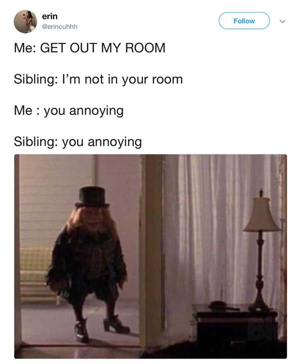 20 Memes You Ll Feel In Your Soul If You Have A Male Sibling Shenhuifu Sibling Memes Silly Memes Siblings