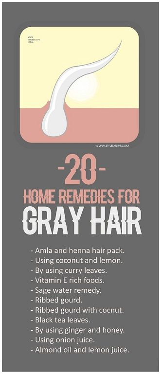 Your hair can become grey because of several reasons. Here are the top 20 natural home remedies for grey hair treatment with images which are definitely help to you.