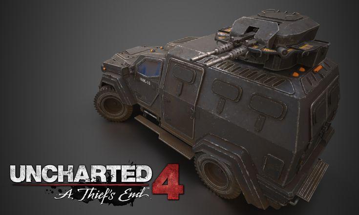 "ArtStation - Uncharted 4 ""beast"" truck texturing masterclass , christophe desse"