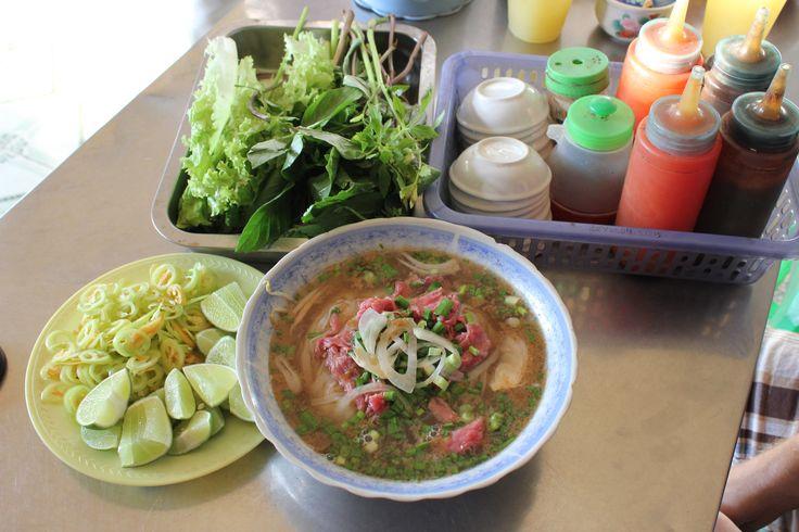 Beef Noodle Soup  - (Pho Bo)