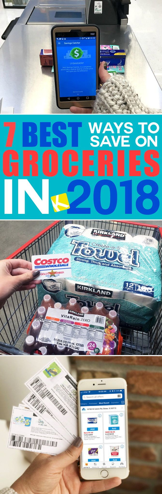 If you're anything like me, your New Year's resolutions include saving money in your grocery budget. Here's how to do it in 2018. . .