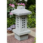 Found it at Wayfair - Naka Lantern Statue - This would make a cool path light if they were less expensive.