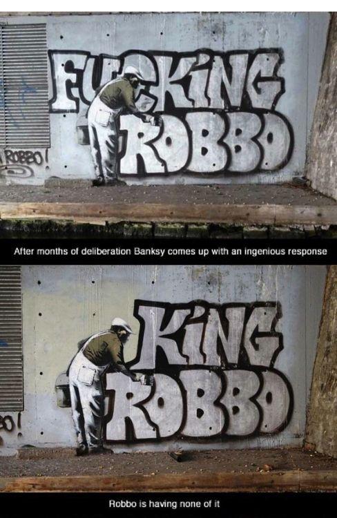 KING ROBBO http://www.widewalls.ch/artist/king-robbo/ #graffiti #street #art