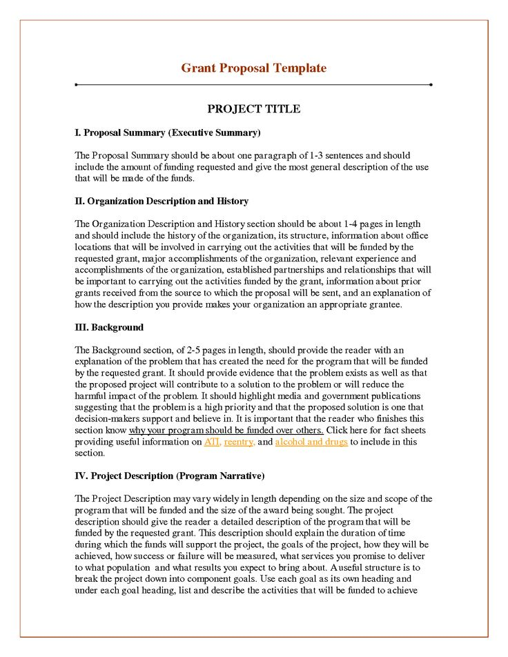 Best 25+ Project proposal example ideas on Pinterest Proposal - funding proposal template