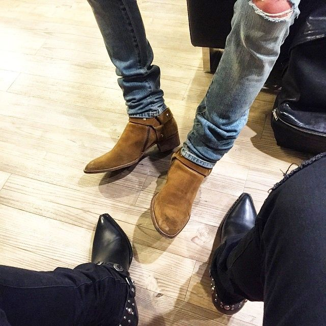 #clubsaintlaurentparis ||| Boots Boyz by @ghostmail and ...