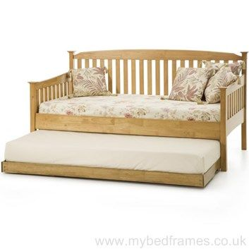 Eleanor day bed stained in honey oak - #bedroom #design