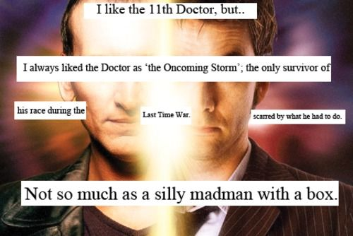.: 11Th Doctor, Tenth Doctor, 9Th Doctor, Box, Agree, Whovian Confessions, Eleventh Doctor, 10 Better