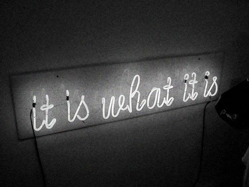 what it is - Click image to find more Quotes Pinterest pins