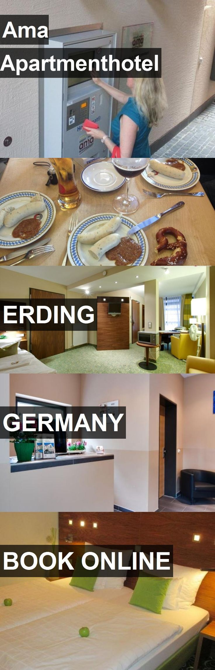 Ama Apartmenthotel in Erding, Germany. For more information, photos, reviews and best prices please follow the link. #Germany #Erding #travel #vacation #hotel #apartment