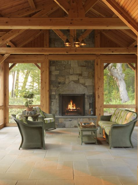 Outdoor Covered Patio With Fireplace Great Addition Idea Dream Dream Dream: 231 Best Images About Post And Beam On Pinterest